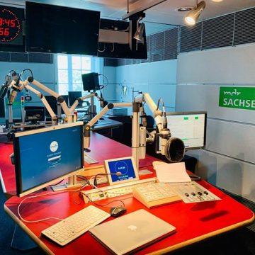Studio MDR Sachsen Interview Robert Körner